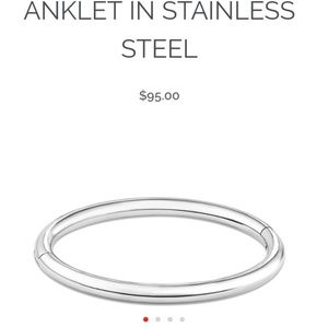 Jewelry - Stainless steel anklet
